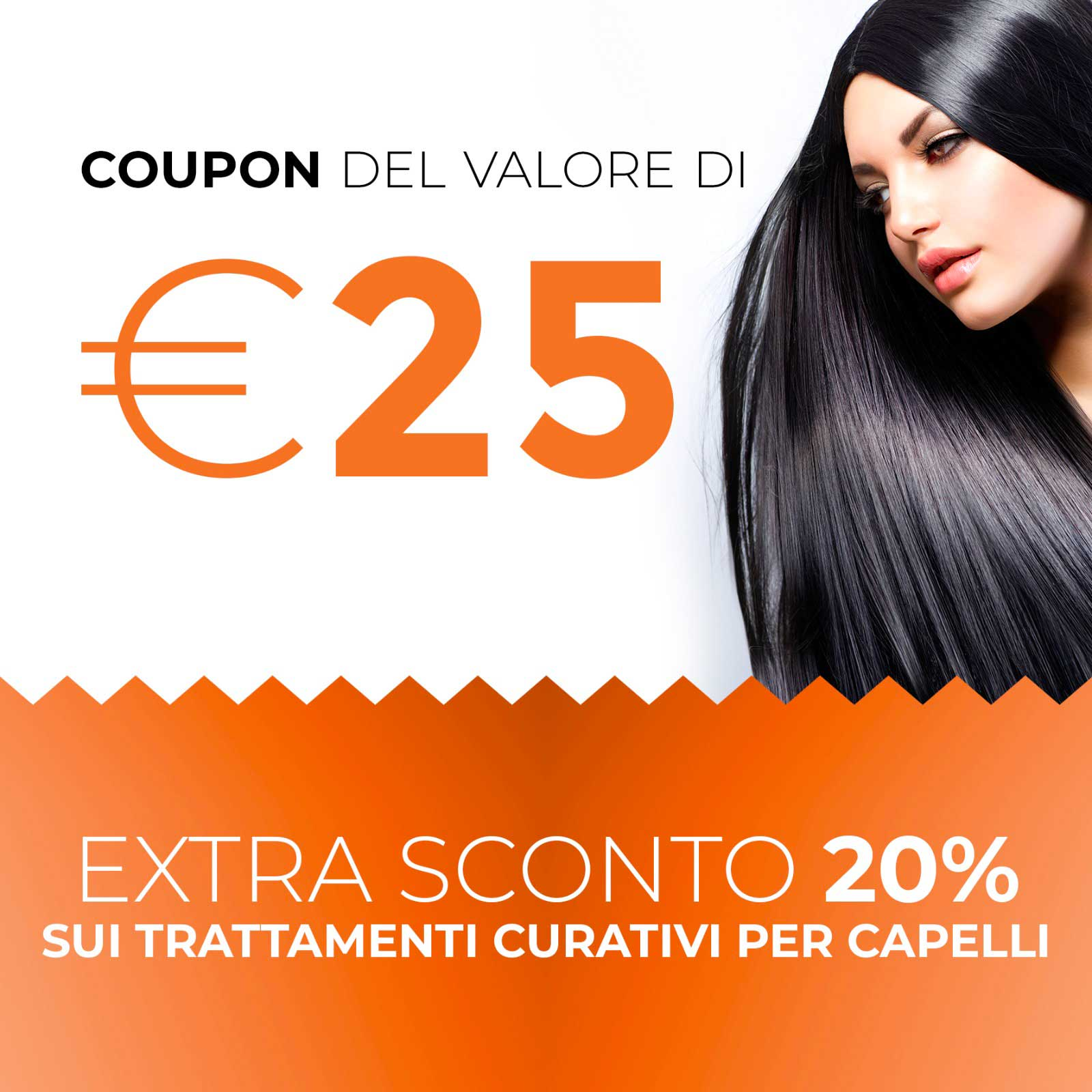 Coupon 25€ Acconciature - Oops