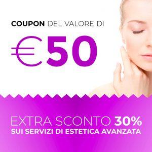 Coupon 50€ Estetica